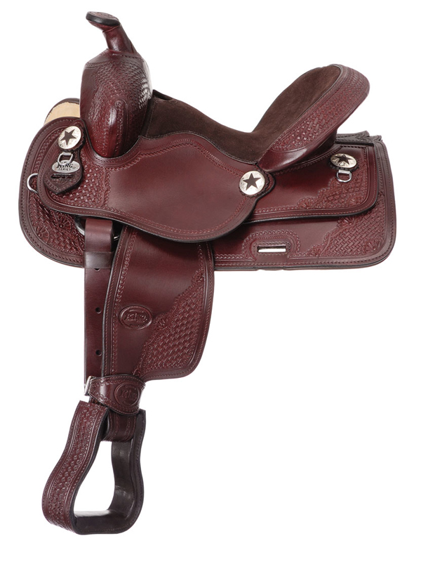 11inch King Series Youth Trail and All Around Saddle 100