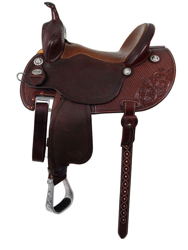 12.5inch to 15.5inch Martin Saddlery FX3 Barrel Racer 67-C1