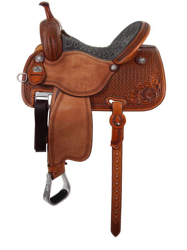 12.5inch to 15.5inch Martin Saddlery Sherry Cervi Crown C Custom Barrel Race