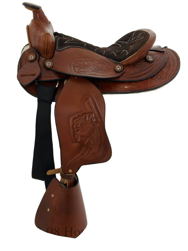 12inch Dakota Chocolate Pony Saddle 950sch