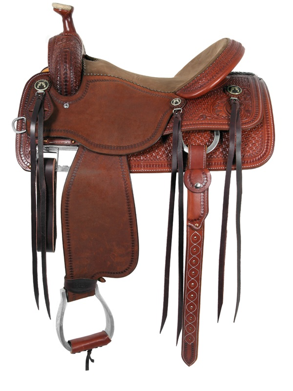 13.5inch to 16inch Martin Saddlery Mounted Shooting Saddle mr45