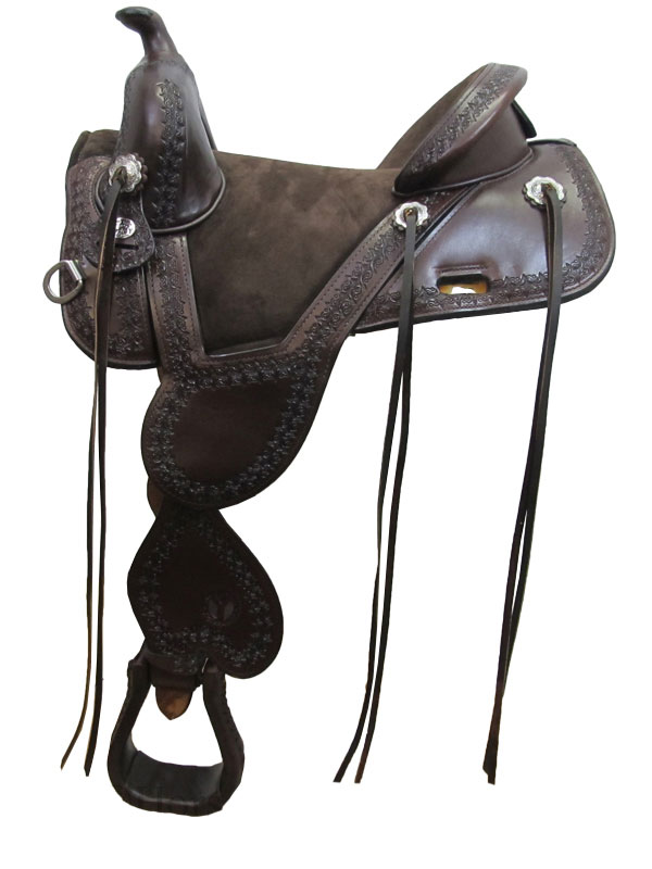 13.5inch to 17.5inch Circle Y Cloud Peak Tree Free Trail Saddle 1300