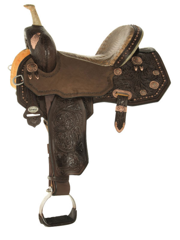 13.5inch to 17inch Circle Y Martha Josey Ultimate Legend Barrel Saddle 1197