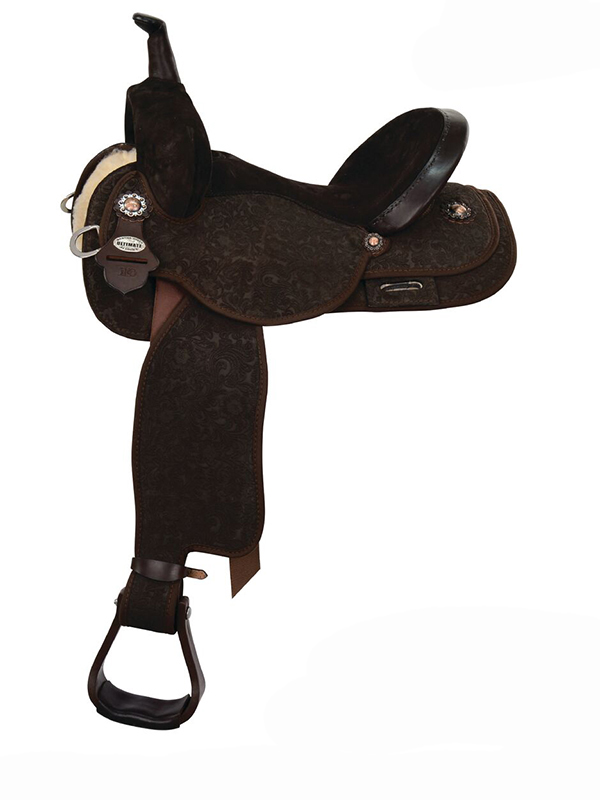 13.5inch to 17inch Circle Y Martha Josey Ultimate Lightspeed Barrel Saddle