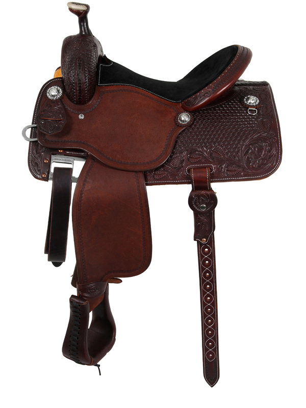 13.5inch to 17inch Martin Saddlery High Plains All Around Saddle 14-C3