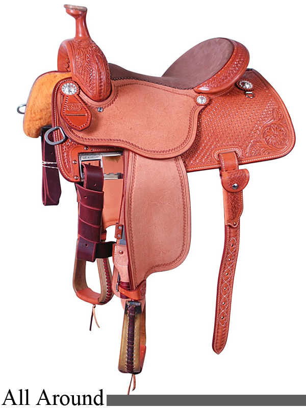 13.5inch to 17inch Martin Saddlery High Plains All Around Saddle 14MDS