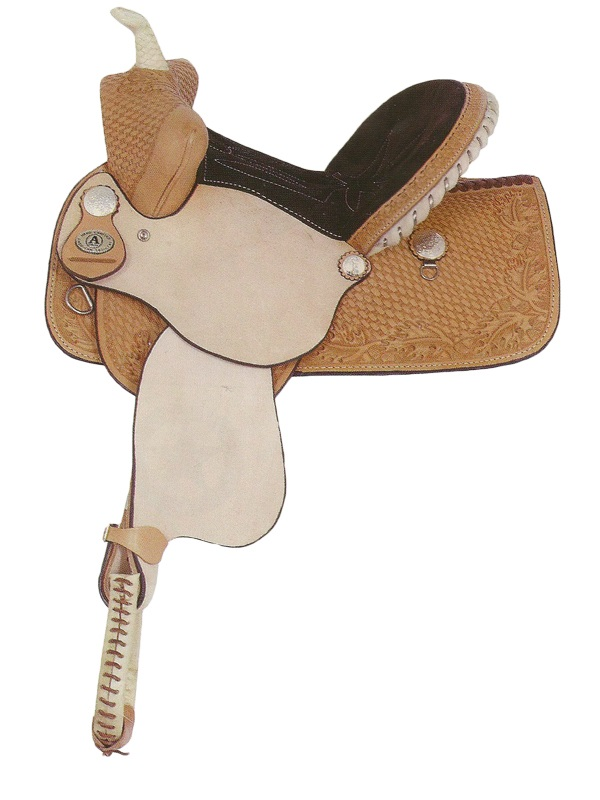 13inch American Saddlery Youth Pro Barrel Racing Saddle 708