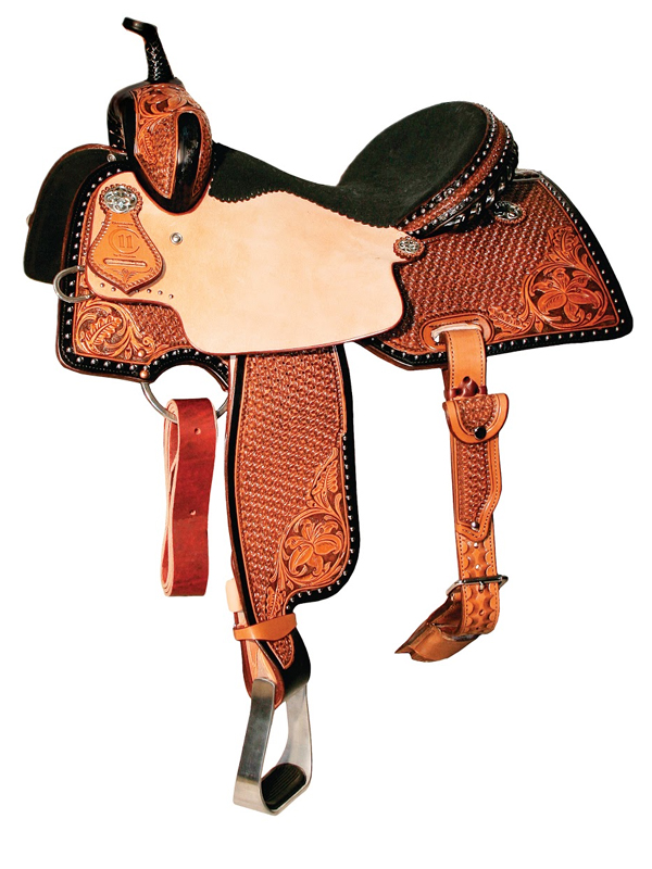 13inch to 15.5inch Reinsman Charmayne James Lily & Snowflake Barrel Saddle