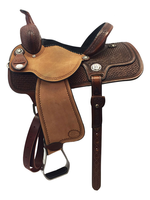 13inch to 15inch Reinsman Molly Powell Barrel Saddle 4260