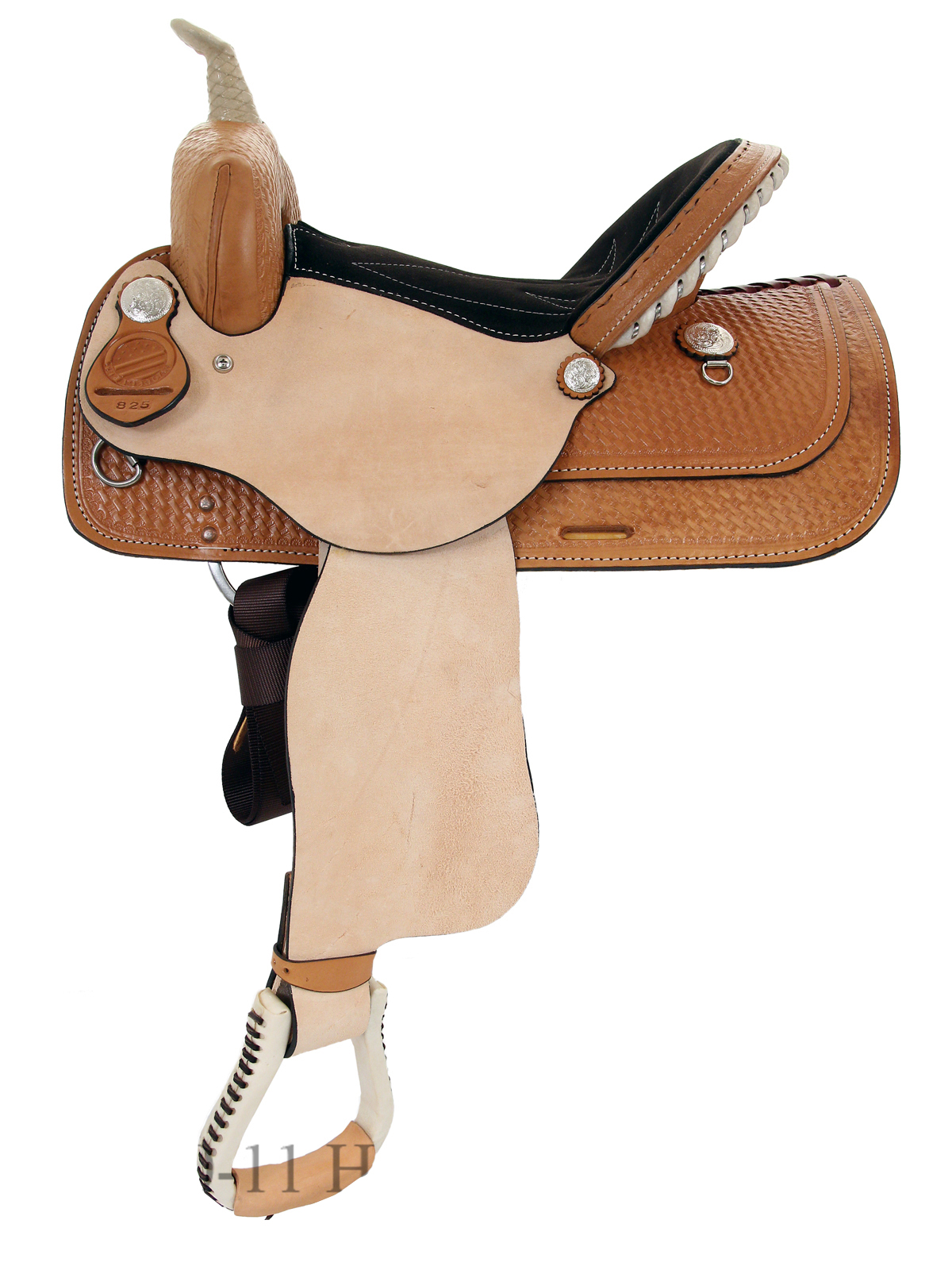 13inch to 16inch American Saddlery The Denero Barrel Racing Saddle 824-825