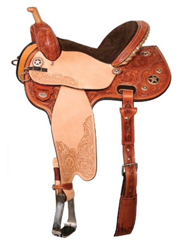 13inch to 16inch Circle Y Flex2 Quick Shot Mounted Shooting Saddle