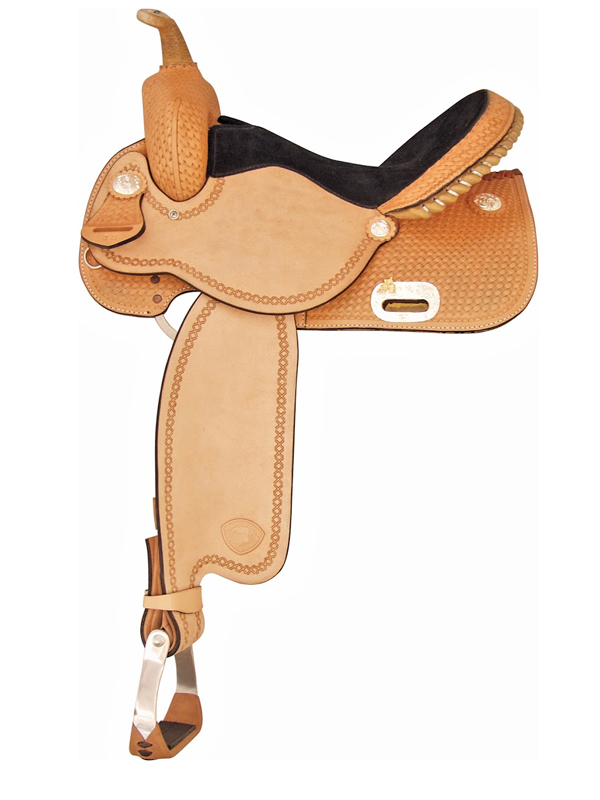 13inch to 16inch Tex Tan Finals Round Barrel Saddle 292220