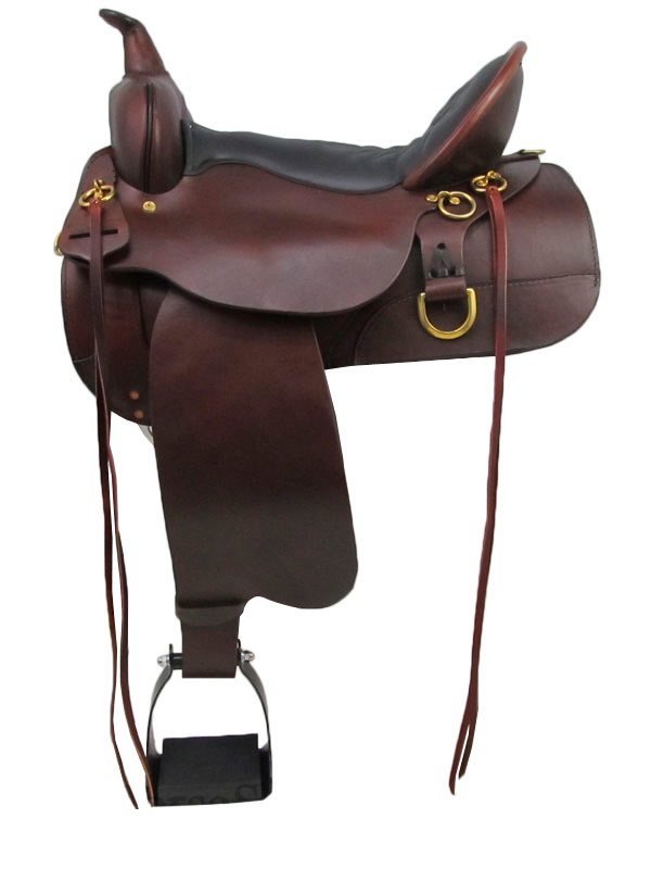 13inch to 17inch Circle Y High Horse Big Springs Trail Saddle 6862
