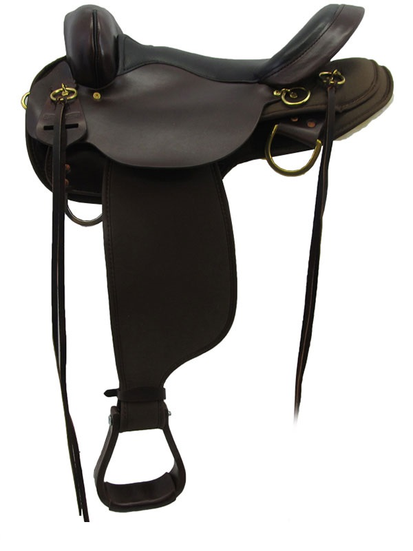 13inch to 17inch Circle Y High Horse Highbank Cordura Trail Saddle 6916