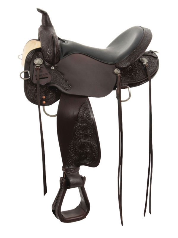 13inch to 17inch Circle Y High Horse Mesquite Trail Saddle 6864