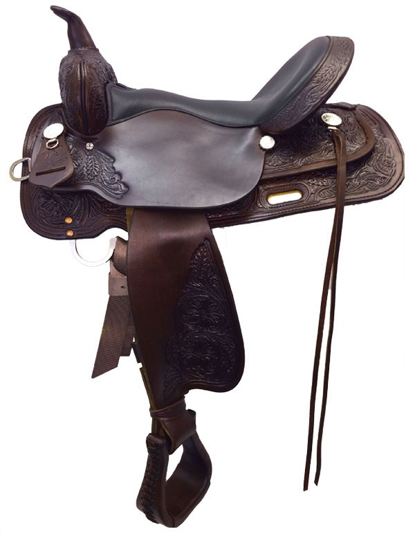 13inch to 17inch Circle Y High Horse Mineral Wells Trail Saddle 6812