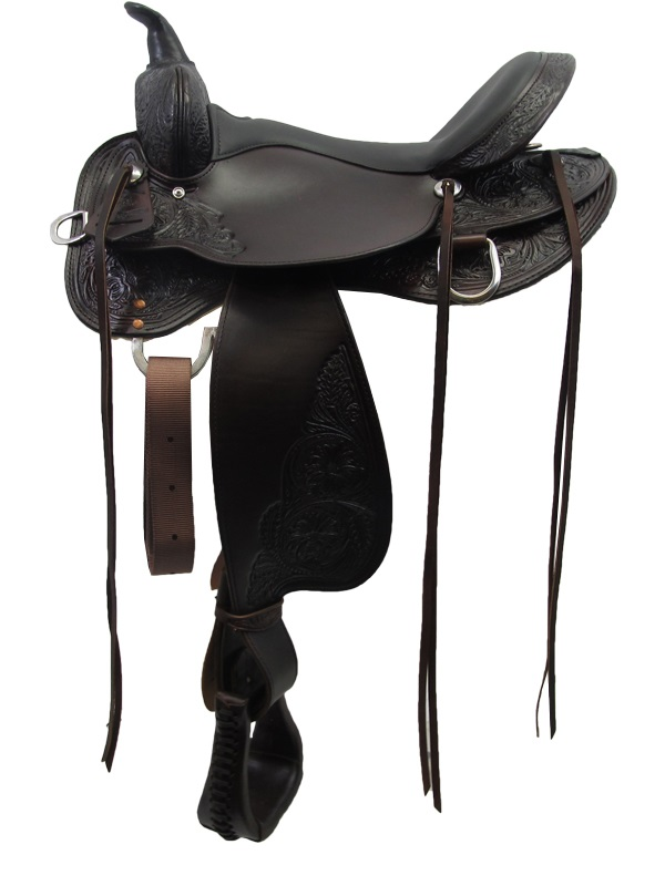 13inch to 17inch Circle Y High Horse Oyster Creek Trail Saddle 6808