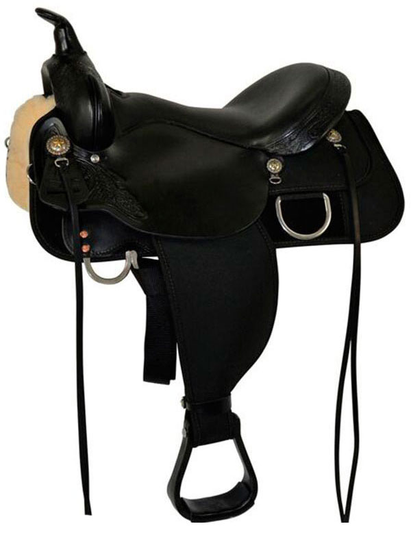 13inch to 17inch Circle Y High Horse Star Trail Saddle 6922