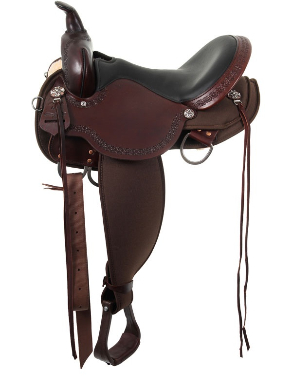 13inch to 17inch High Horse by Circle Y Daisetta Cordura Trail Saddle