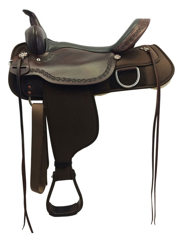 13inch to 17inch High Horse by Circle Y Magnolia Cordura Trail Saddle