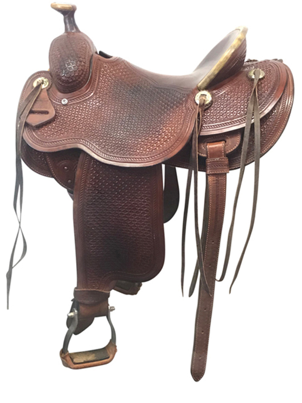 14.5 Used Trent Ward Wide Ranch Saddle