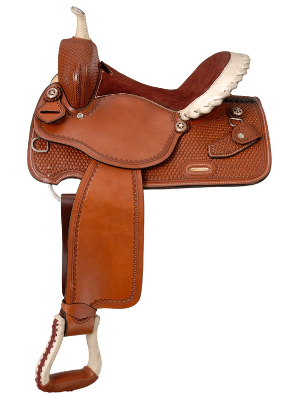 14.5inch to 15.5inch Silver Royal Elite Barrel and Competition Saddle 251