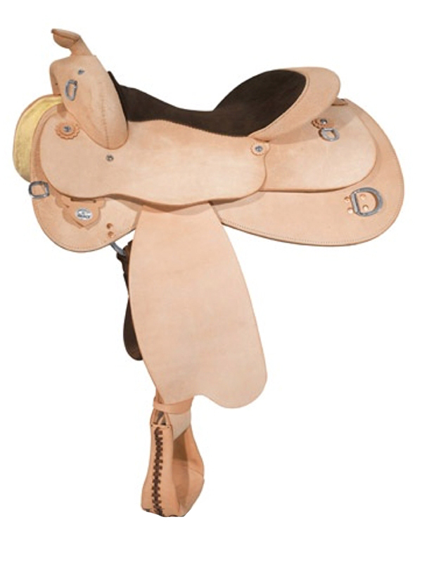 14.5inch to 17inch Circle Y Roughout Training Saddle 1439 w/$105 Gift Card