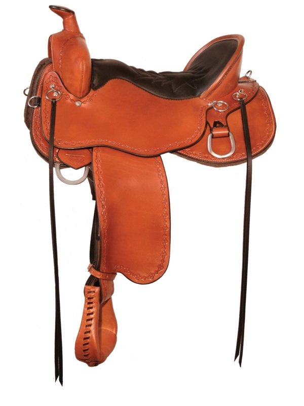 14.5inch to 18.5inch Tucker Black Mountain Gaited Saddle 261