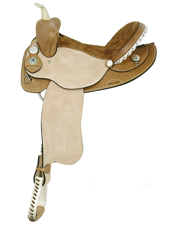 14inch 15inch American Saddlery Ekto Five Barrel Racing Saddle 818 819