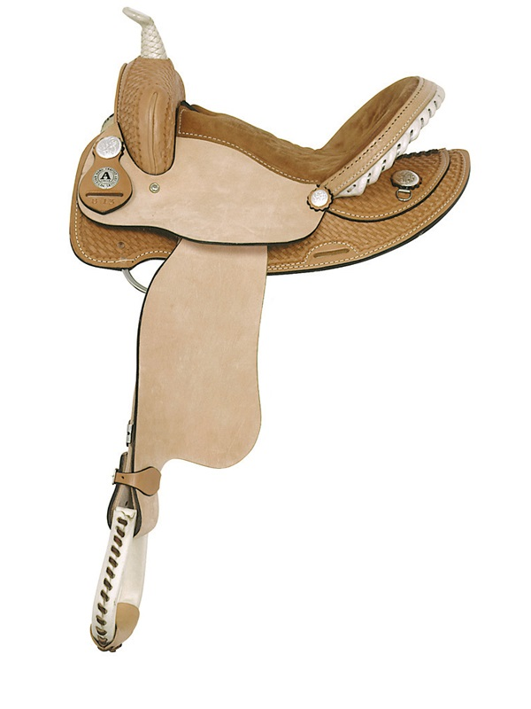 14inch 15inch American Saddlery Ekto Two Barrel Racing Saddle 812 813