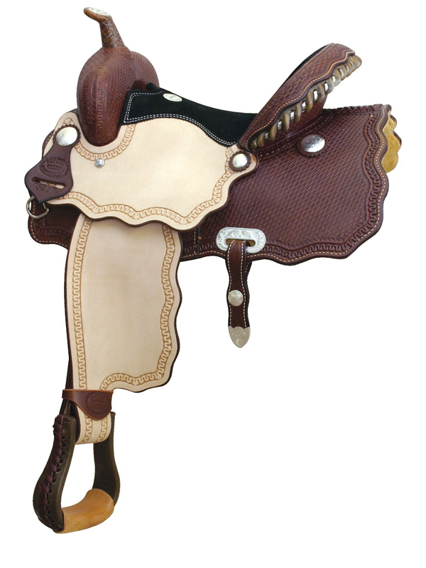 14inch 15inch Billy Cook Wave A Smokin Barrel Saddle 291217