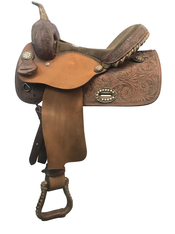 14inch Used Alamo Wide Flex Barrel Racer 1234