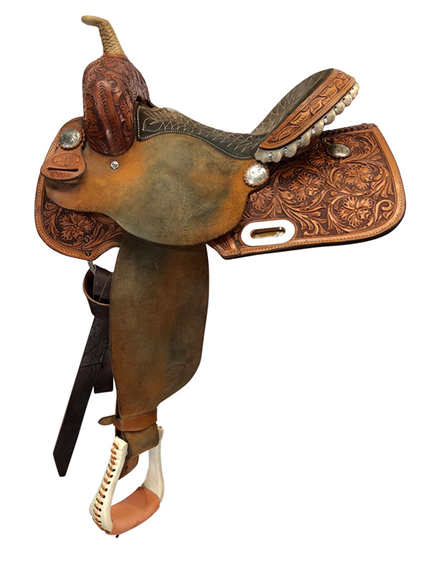 14inch Used Billy Cook Wide Barrel Saddle