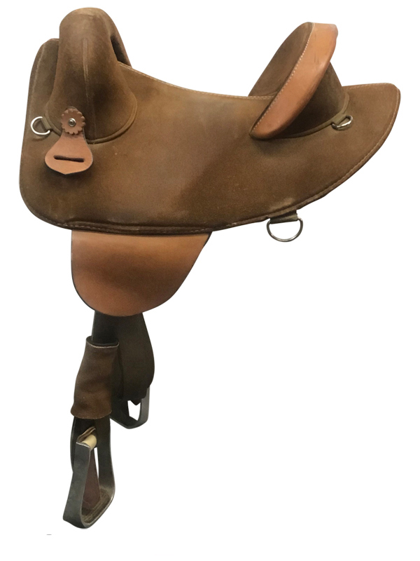 14inch Used Bob Marshall Treeless Endurance Saddle