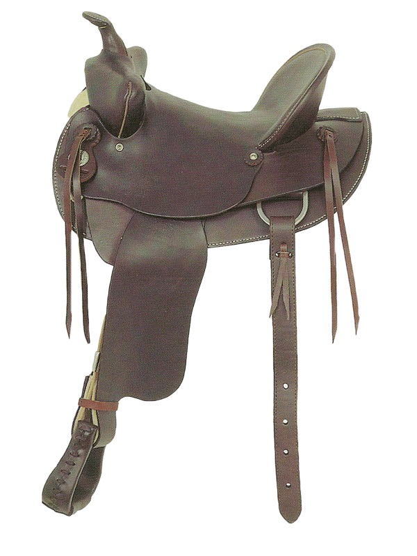 14inch to 16inch American Saddlery Bear Trap Rancher_ Hard Seat am721