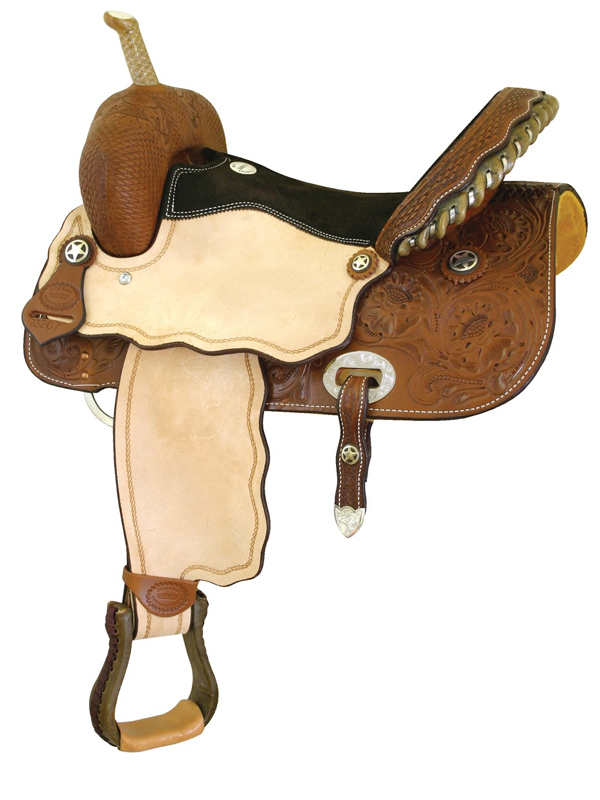 14inch to 16inch Billy Cook Runnin Tres Aces Barrel Saddle 291209