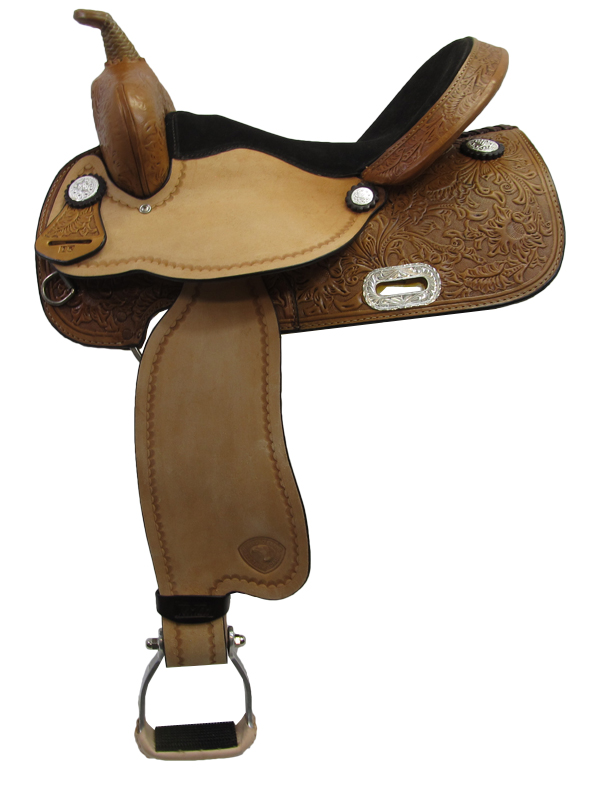 14inch to 16inch Tex Tan Barrel Chaser Barrel Saddle 292223
