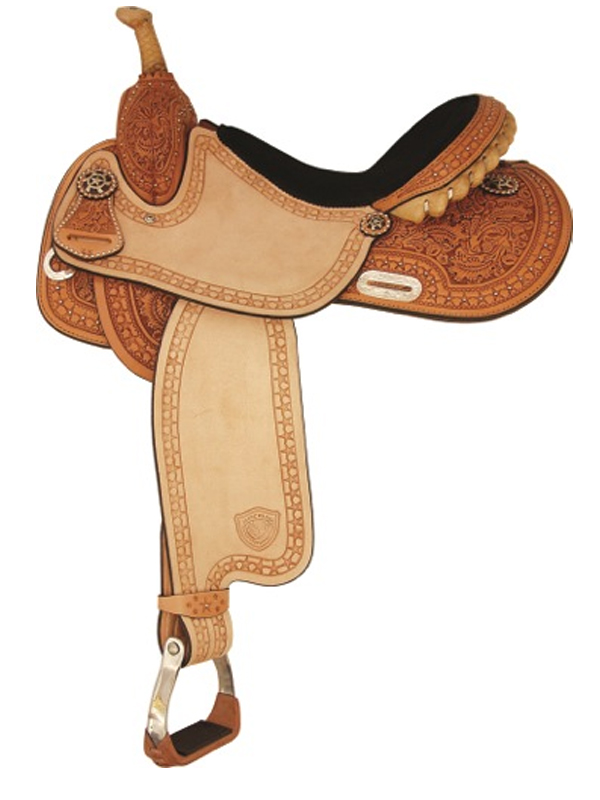 14inch to 16inch Tex Tan Star Racer Barrel Saddle 292200
