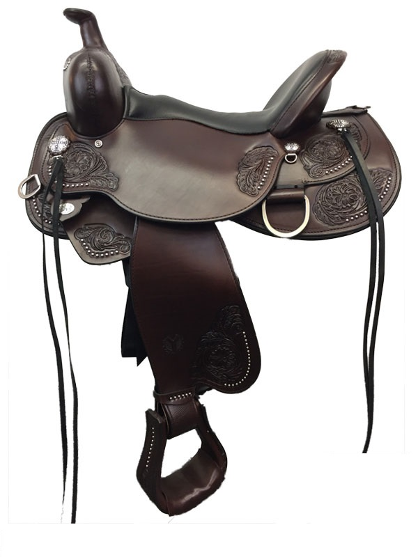 14inch to 17inch Circle Y Clearwater Flex2 Trail Saddle 2379