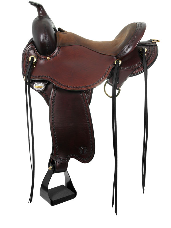 14inch to 17inch Circle Y Missouri Flex2 Gaited Trail Saddle 1589