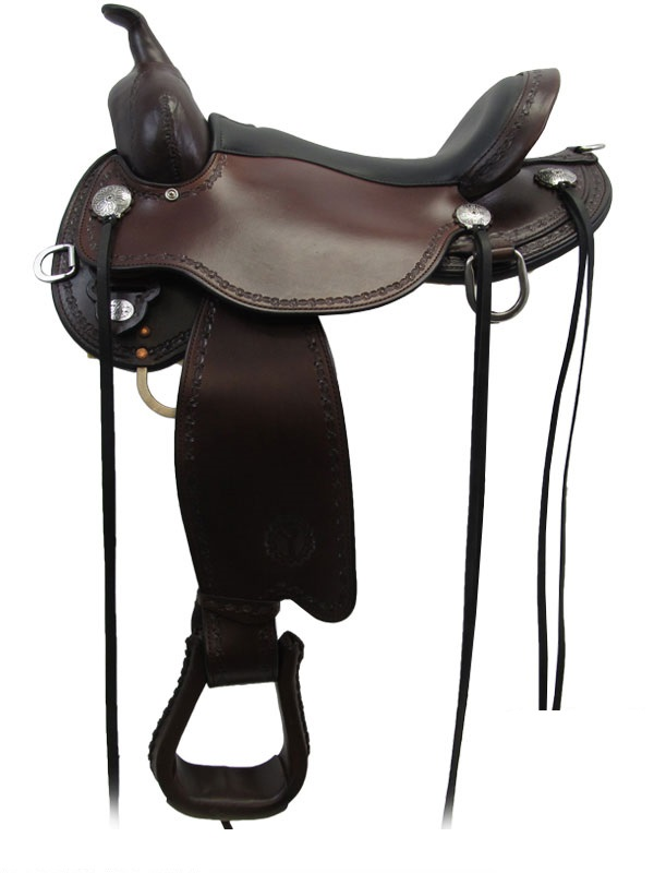 14inch to 18inch Circle Y Salt River Flex2 Trail Saddle 1667