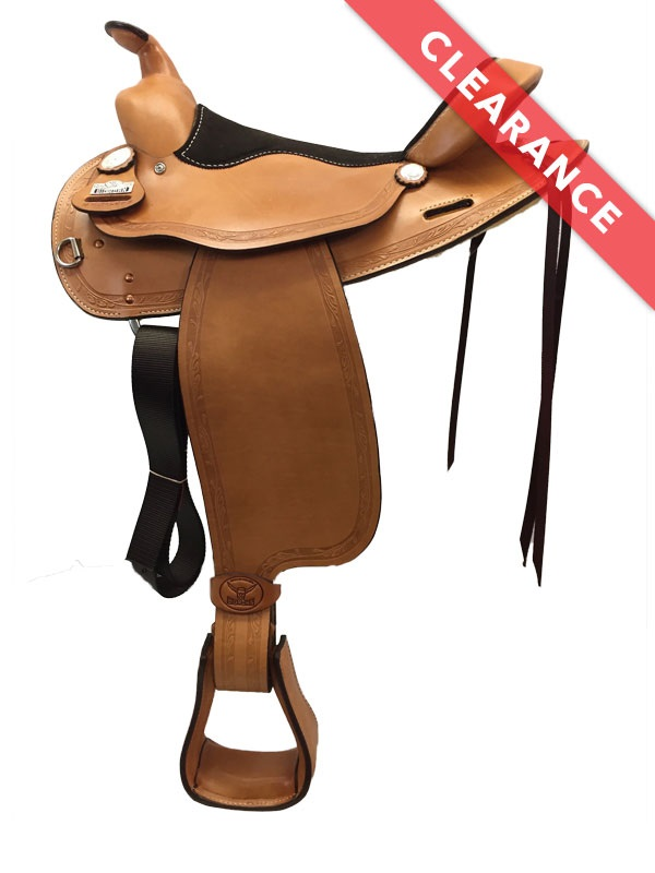 15.5inch Big Horn Trail Saddle 1579