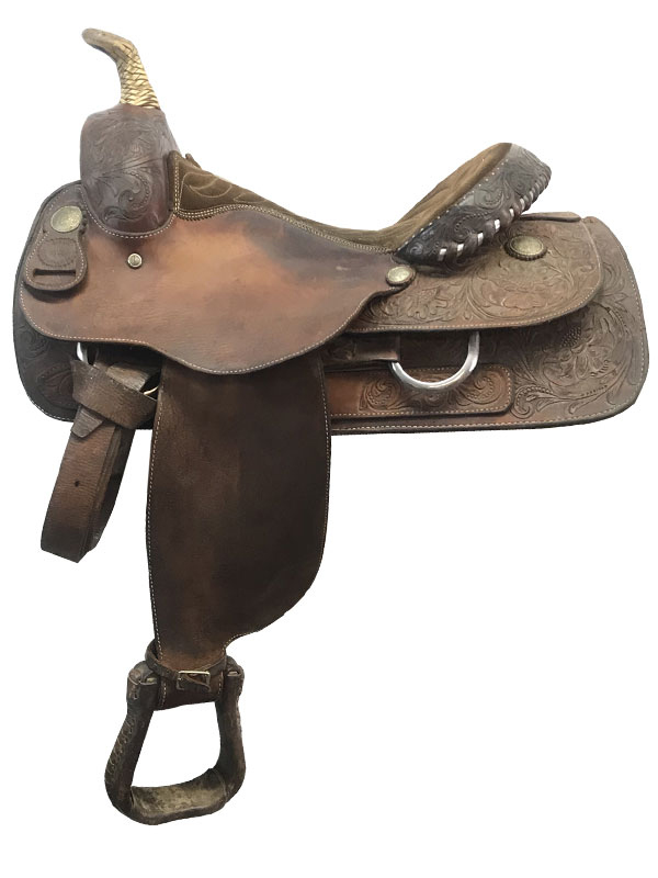 15.5inch Used Billy Cook Wide Barrel Racer 8555