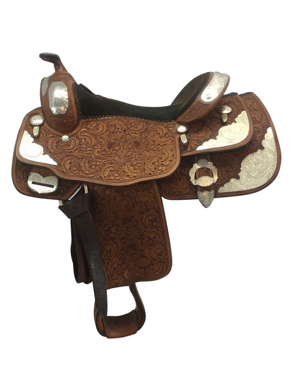 15.5inch Used Billy Cook Wide Show Saddle 9003
