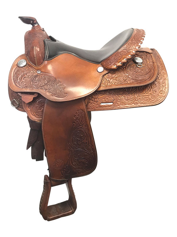 15.5inch Used Circle Y Medium Park and Trail Saddle 3106