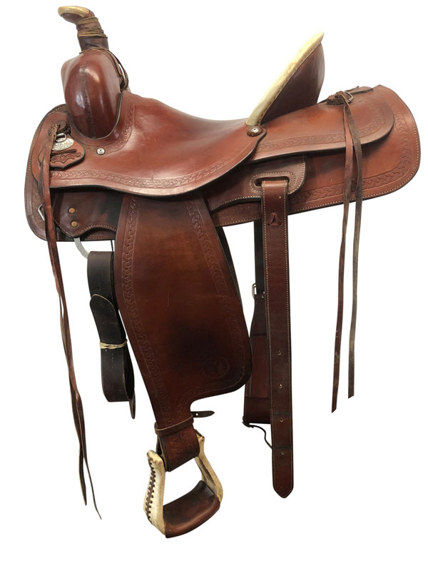 15.5inch Used Circle Y Medium Ranch Roper Saddle