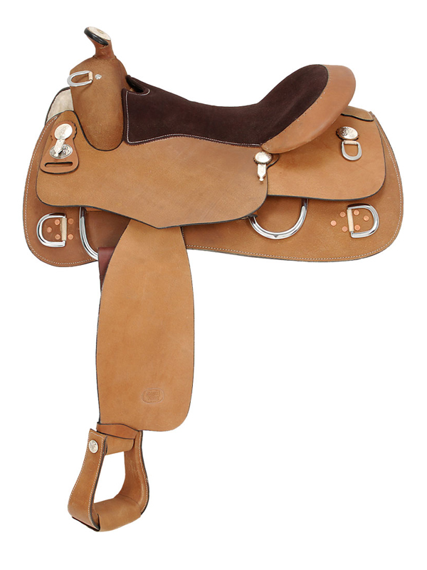 15.5inch to 16.5inch Royal King Roughout Training Saddle 1955 1965