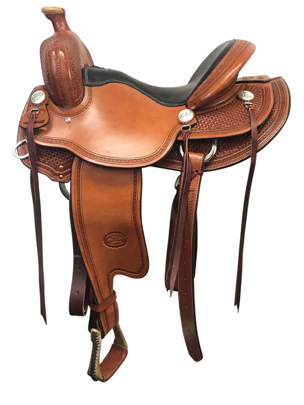 15.5inch to 17inch Billy Cook Tipton Trail Saddle 1735