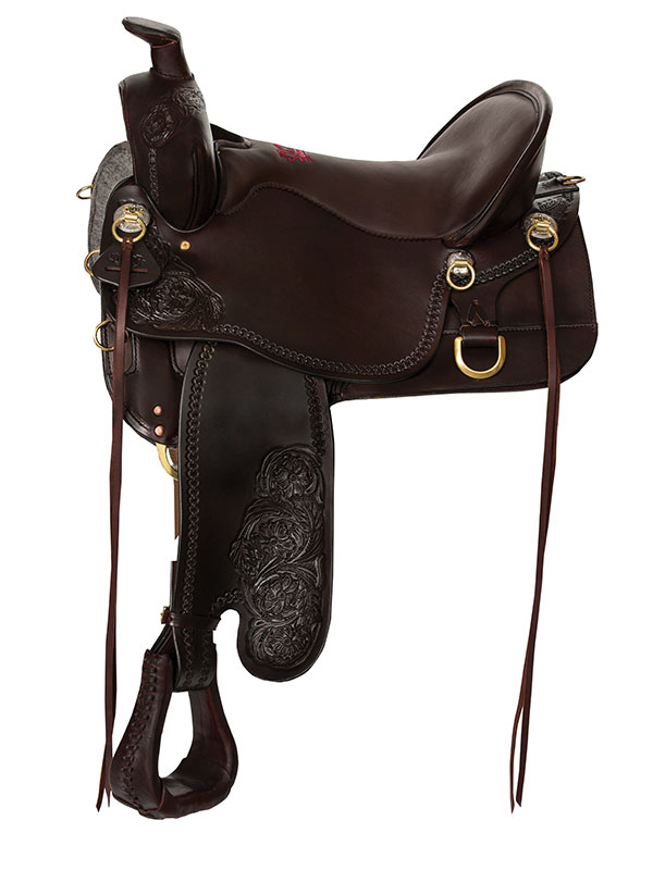 15.5inch to 18.5inch Tucker High Plains Trail Saddle T60