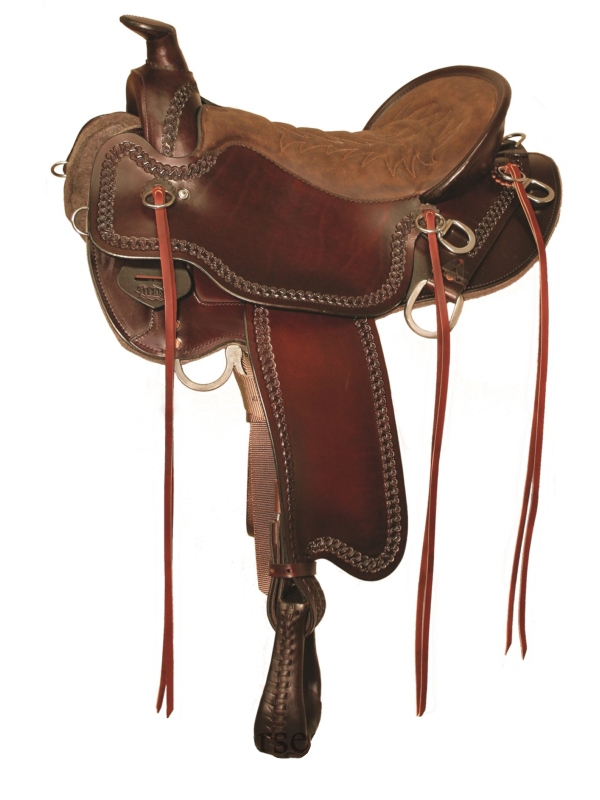 15.5inch to 18.5inch Tucker Pine Ridge Mule Trail Saddle 289